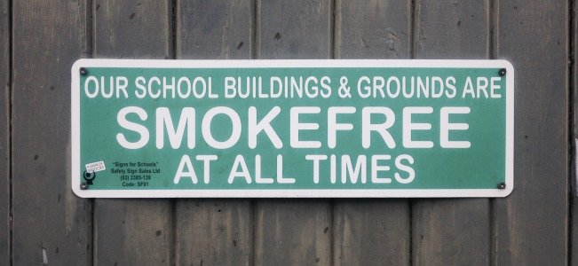 smokefree schools